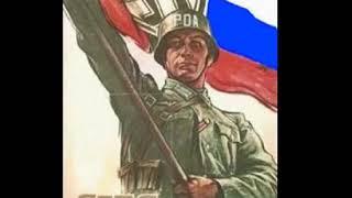над московским кремлём - власовское знамя !
