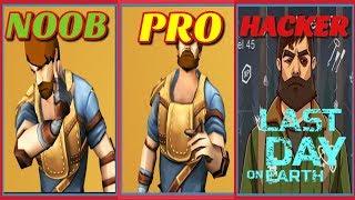 NOOB VS PRO VS  HACKER-  in Last Day on Earth : Survival