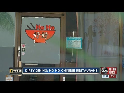 Dirty Dining: Ho Ho Chinese Restaurant
