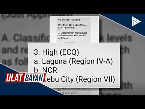 Pangulong #Duterte, balik-Maynila na; DILG: Viral chain message ukol sa quarantine, peke