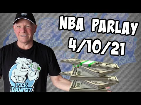 Free NBA Parlay Mitch's NBA Parlay for 4/10/21 NBA Pick and Prediction