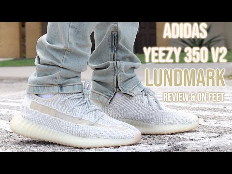 Is The YEEZY Hype Dead? Adidas YEEZY 350 V2 Lundmark Review & On Feet!
