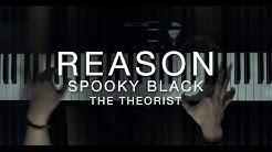 Spooky Black - Reason | The Theorist Piano Cover