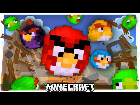 When Angry Birds Meets Minecraft