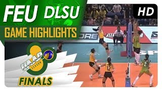 UAAP 80 WV Finals Game Two: FEU vs. DLSU | Game Highlights | May 2, 2018