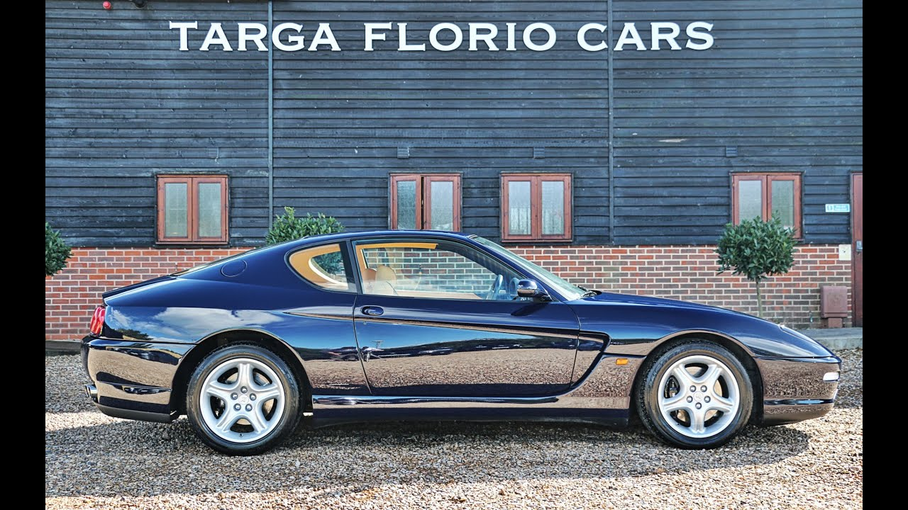 Ferrari 456m gt 5 5 l tipo f116c v12 pininfarina design finished in blu pozzi youtube