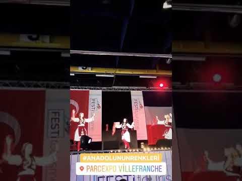 7 Kasım 2018 Fransa Lyon Halk Oyunları Balkan Dansları
