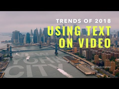 5 Text Graphics Trends for 2018