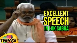 Hukmdev Narayan Yadav Excellent Speech In Lok Sabha | Tears Into Congress | PM Modi | Mango News