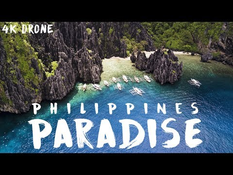 PARADISE IS REAL 4K DRONE // EL NIDO, PHILIPPINES 2017
