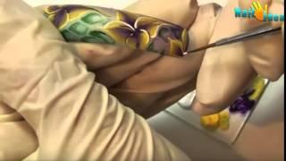Китайская роспись ногтей - Дизайн ногтей