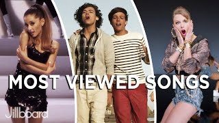 Famous Artists' Most Viewed Songs On YouTube