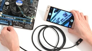 6 LED 7mm Lens IP67 1M USB Endoscope for Android Smartphone and PC