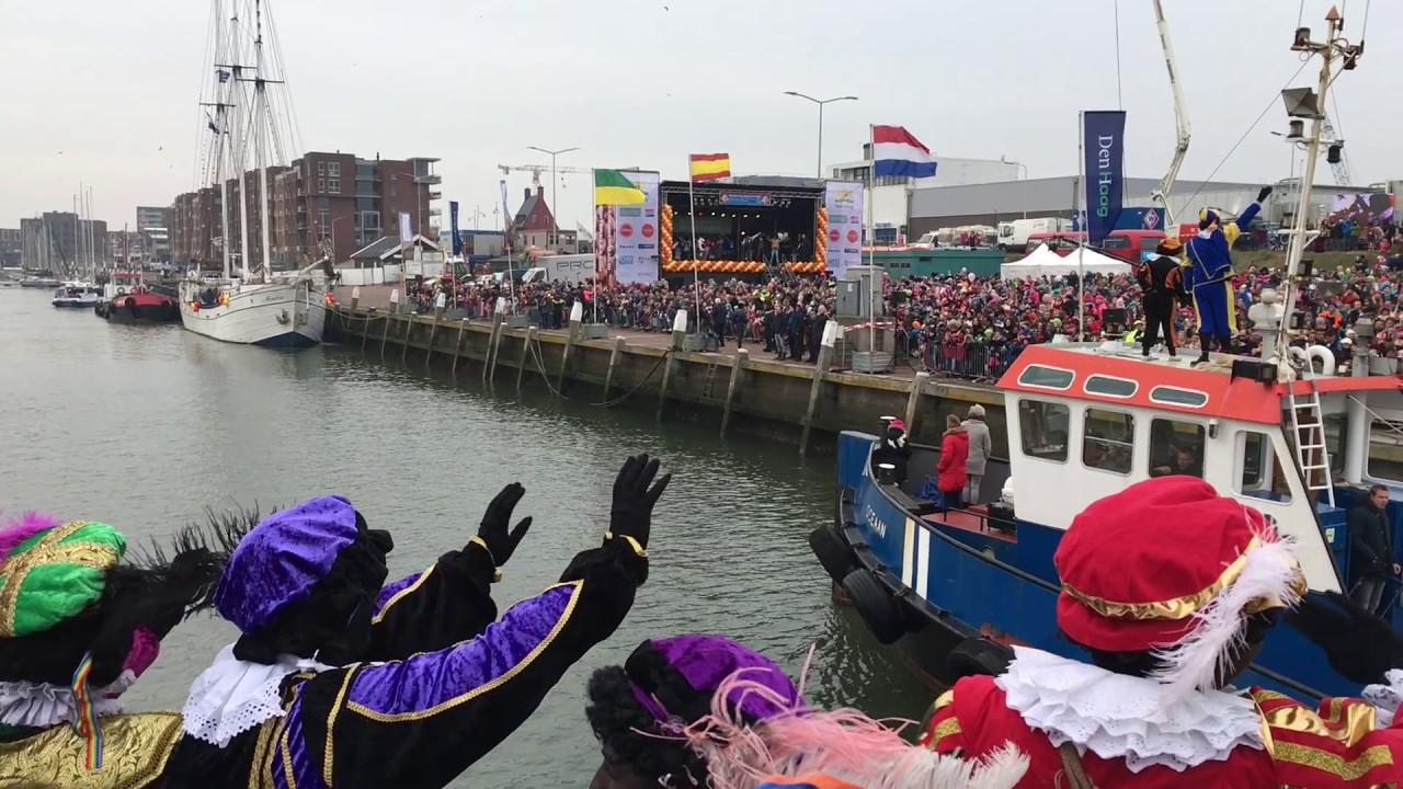 Heuronsis Banda Petes Intocht Sinterklaas Scheveningen Den Haag 2016 Youtube