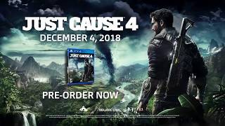 Just Cause 4 – E3 2018 Announce Trailer | PS4 Upcomming Game