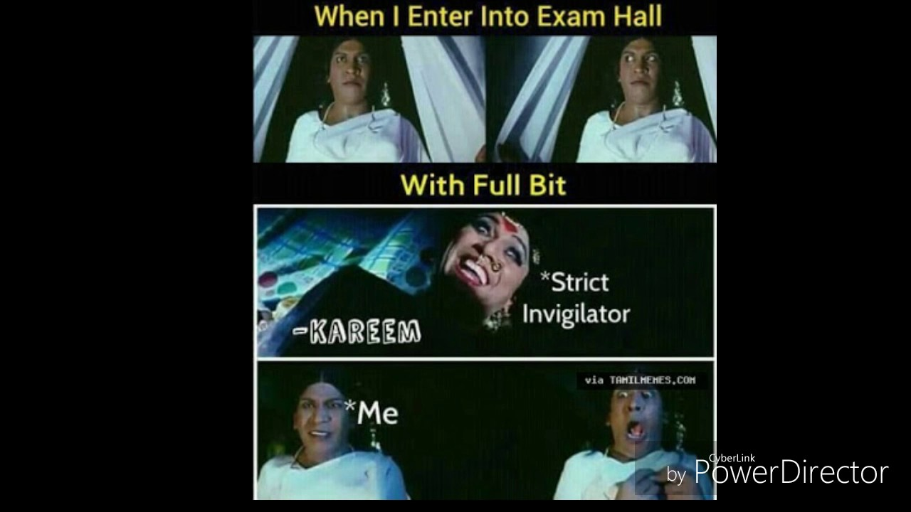 Meme Templates Video Exam Hall Scenario Youtube