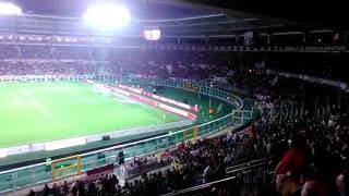 Torino - Inter  Curva Maratona lettura formazioni e inno Toro