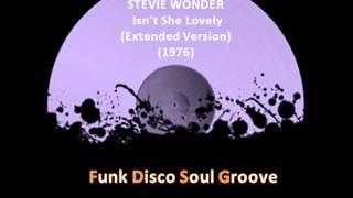 STEVIE WONDER  -  Isn't She Lovely (Extended Version) (1976)