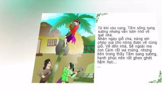 Truyện cổ tích - Truyện tranh - Truyện dành cho bé: Tấm Cám