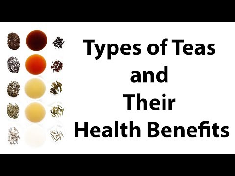 Different Types of Teas and Their Health Benefits