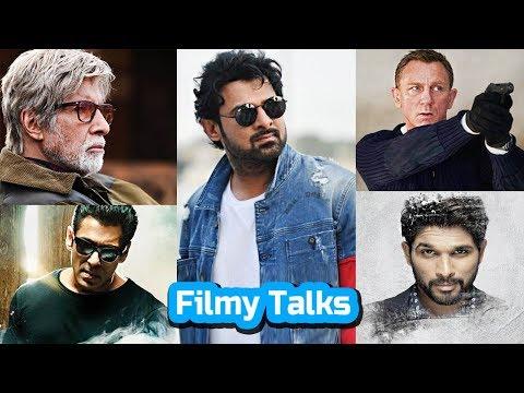 Filmy Talks - Prabhas 21, KGF Chapter 2, Jurassic World 3, Brahmastra, AA 20, No Time To Die, Radhe