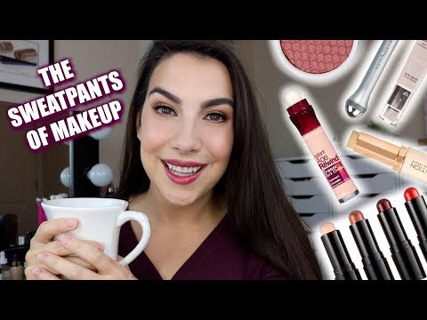 GRWM: COMFY GLAM | Makeup That FEELS GOOD To Put On