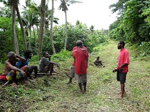 Locals Doing Business in Tanna, Vanuatu
