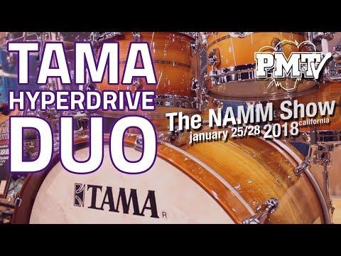 NAMM 2018 | Tama Hyperdrive Duo