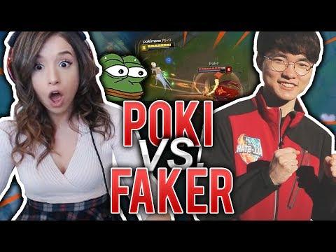 POKI VS FAKER
