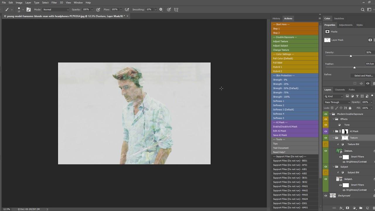 AI Modern Double Exposure Generator 23506383 » Adobe Download