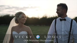 Wedding Highlights FIlm at Southend Barns - Vicky & Louis