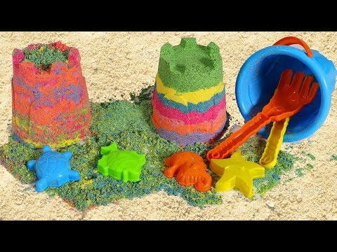 Renkli Ay Kumu Yapımı | Rainbow Renkli Ay Kumu Oyunu | Nasıl Yapılır | EvcilikTV