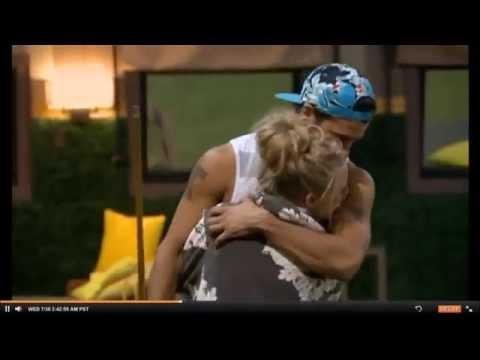 Nicole Hugs Cody 7/30/14