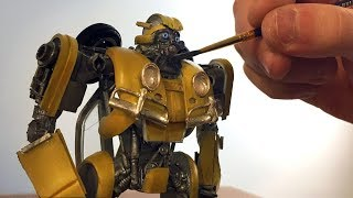 Bumblebee Made From Model Kit Parts - Timelapse