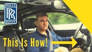 This is how to drive a Rolls-Royce Ghost!