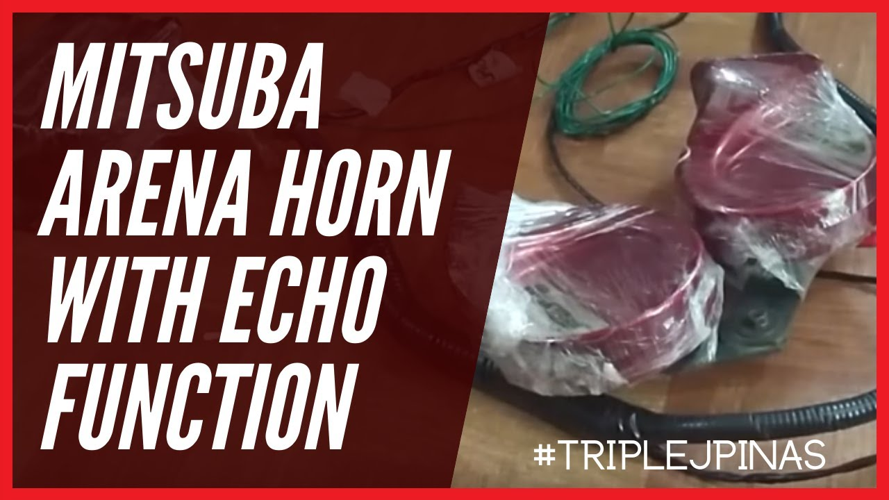 Mitsuba arena horn with echo function youtube mitsuba arena horn with echo function swarovskicordoba Gallery