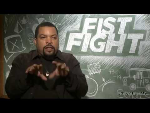 Fist Fight Interview - Charlie Day and Ice Cube get ready for battle.