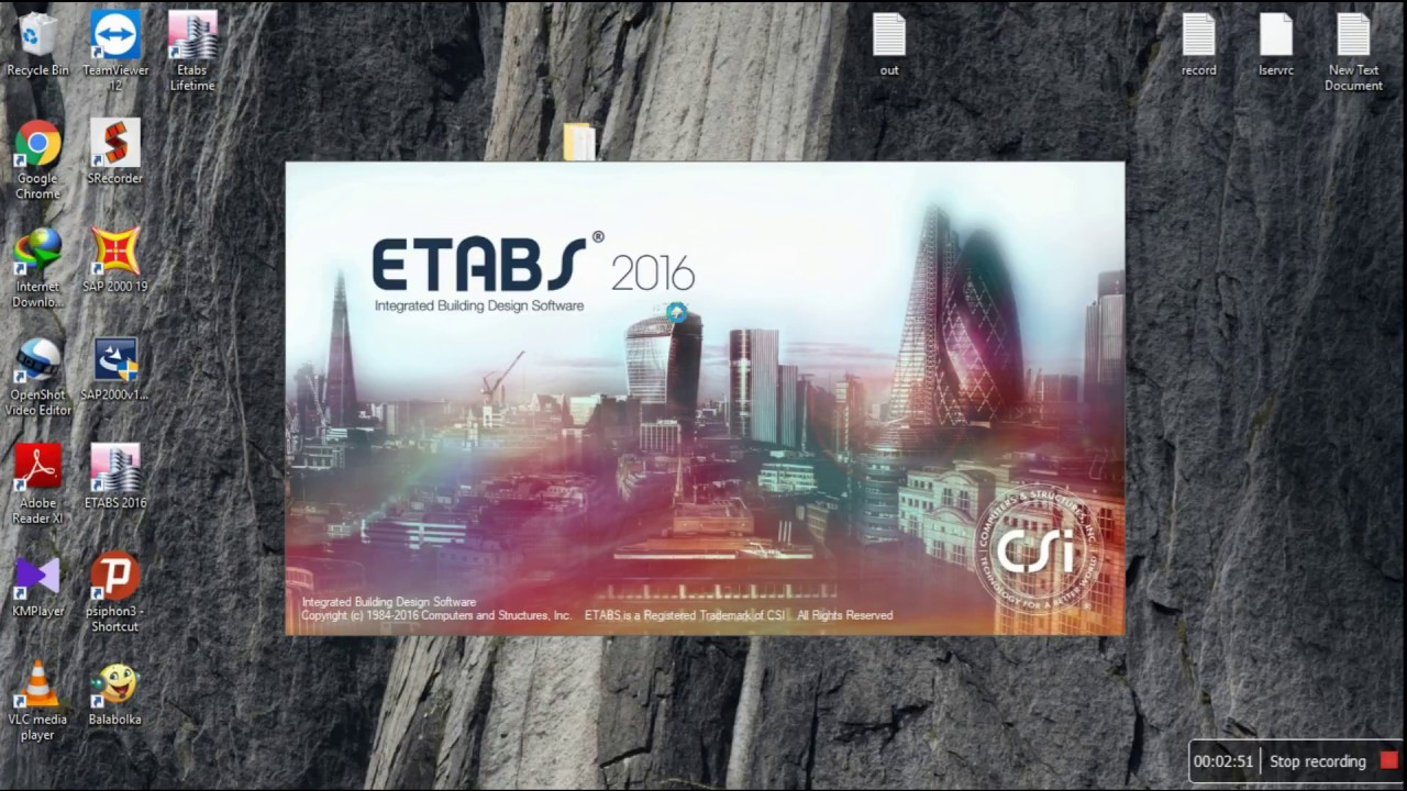 Download ETABs Crack with full setup and latest crack Here