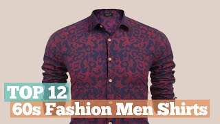 Top 12 60s Fashion Men Shirts // 60s Fashion On Amazon