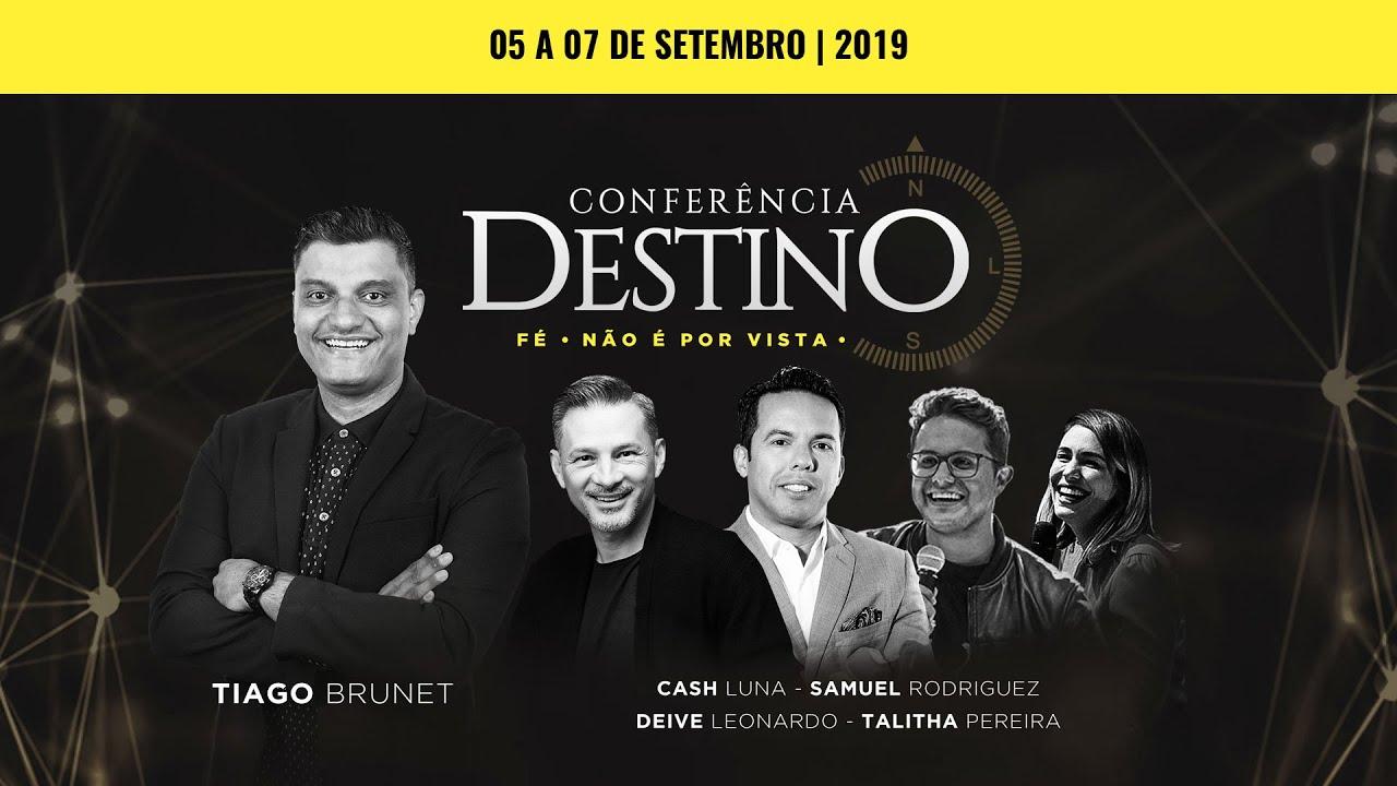 Conferência Destino 2019 - Fé - Não é por vista