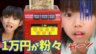 一万円が粉々に!!お札シュレッダー★にゃーにゃちゃんねるnya-nya channel
