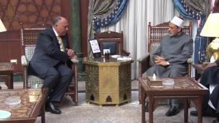وزير الخارجية: ندعم جهود الأزهر حتى يصل صوته المعتدل إلى العالم