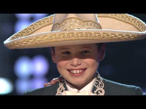 """Sean Oliu canta """"La Adelita"""" en """"La Voz Kids"""""""
