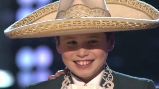 """Sean Oliu canta """"La Adelita� en """"La Voz Kids�"""