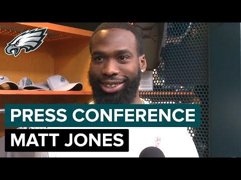 Matt Jones Chats About Eagles Being His Favorite Team & Jay Ajayi | Eagles Press Conference