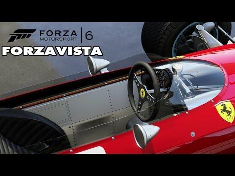 Forza Motorsport 6 - 1964 Ferrari F-158 F1 Forzavista & Gameplay