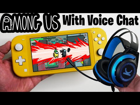 """Among Us on Nintendo Switch with Voice Chat Gameplay - """"Switch LITE"""" Edition"""