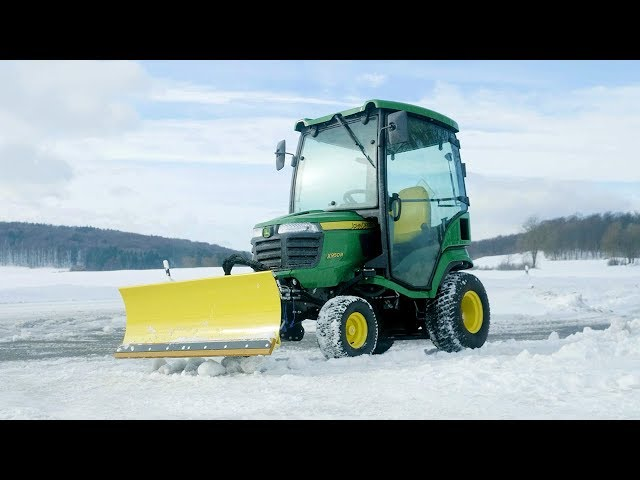 John Deere | X950R Winter in use