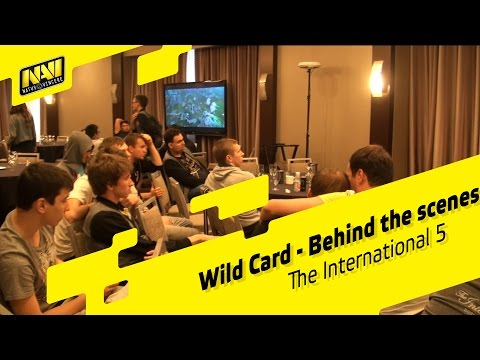 Wild Card - Behind the scenes @ The International 5