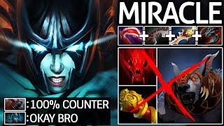 Miracle- [Phantom Assassin] Epic Divine Rapier Build VS Ursa 27 Kills 7.21 Dota 2